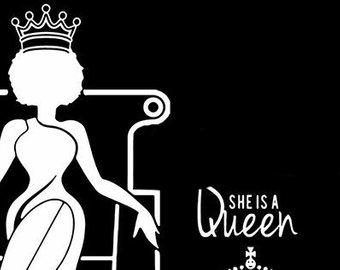 woman queen
