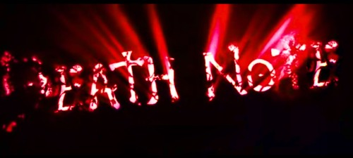 Death Note Opening title