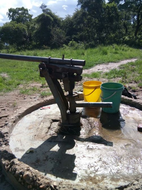 Borehole Bush pump