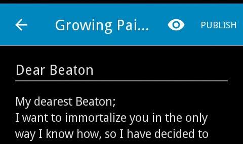 dear beaton letter