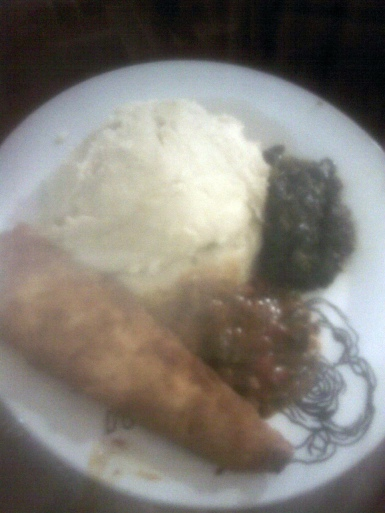 sadza and relish