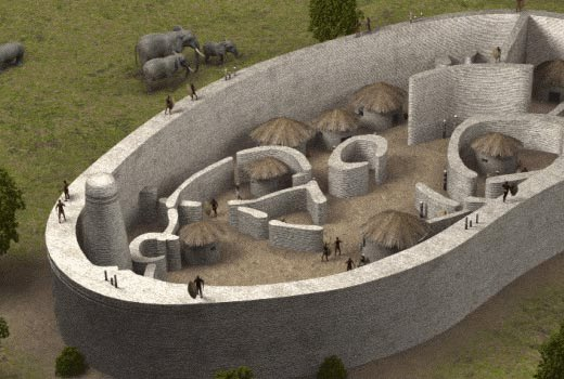 artist impression of great zimbabwe