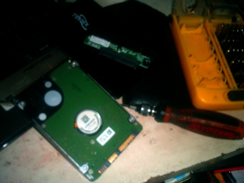Opening an external HDD