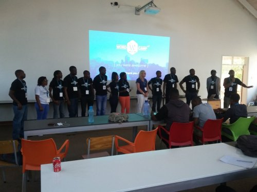 WordCamp Harare Speakers, volunteers organisers The TEAM