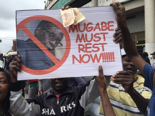 Mugabe must rest now