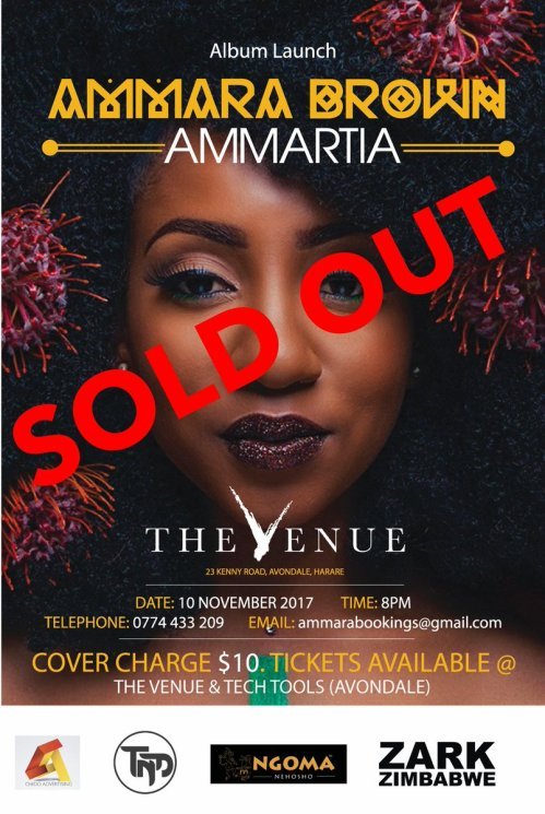 Ammartia album sold out