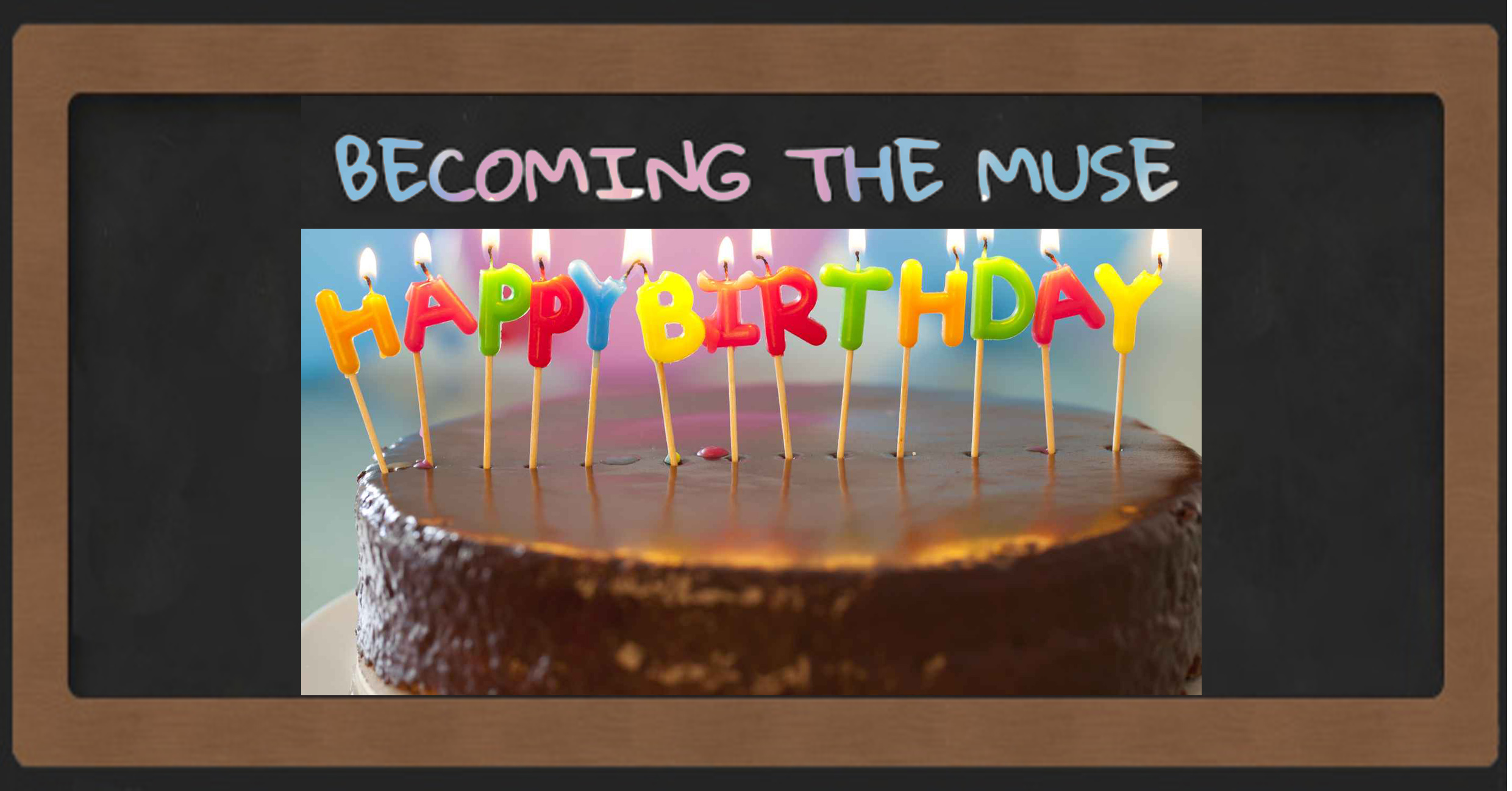 Becoming the muse Birthday