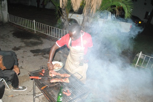 Smokey grill