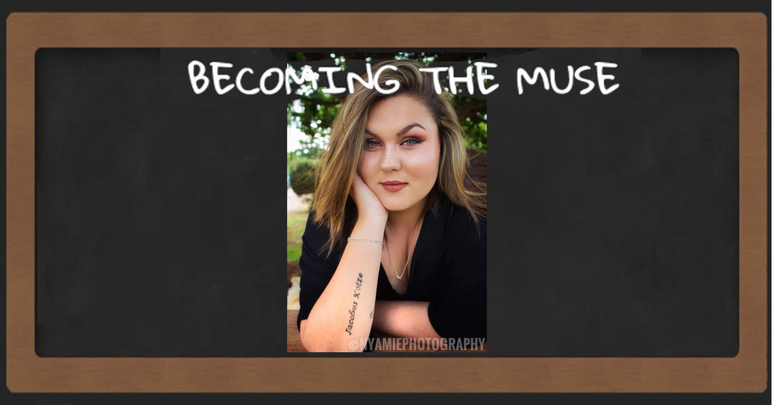 Becoming the muse coffee with Hayley