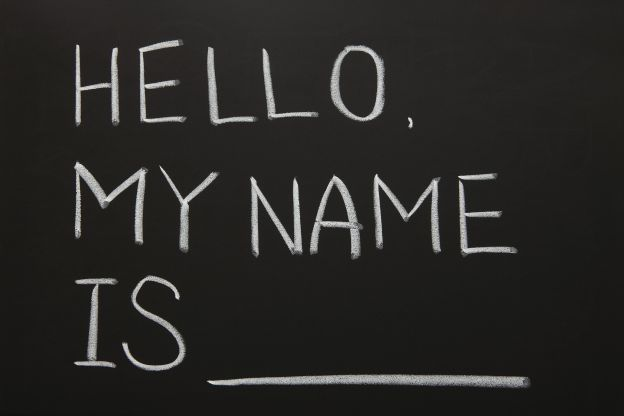 hello my name is........