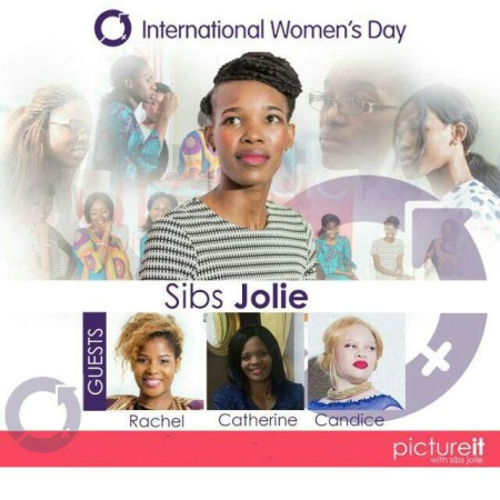 International women's day Picture it with SIbs