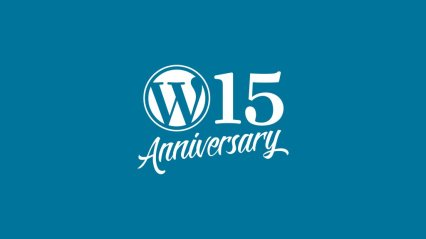WordPress 15th anniversary