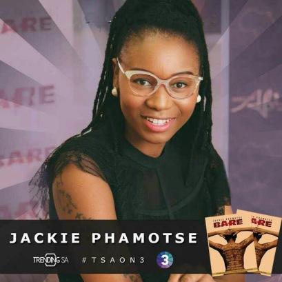 Jackie Phamotse #TSAON3 Trending SA
