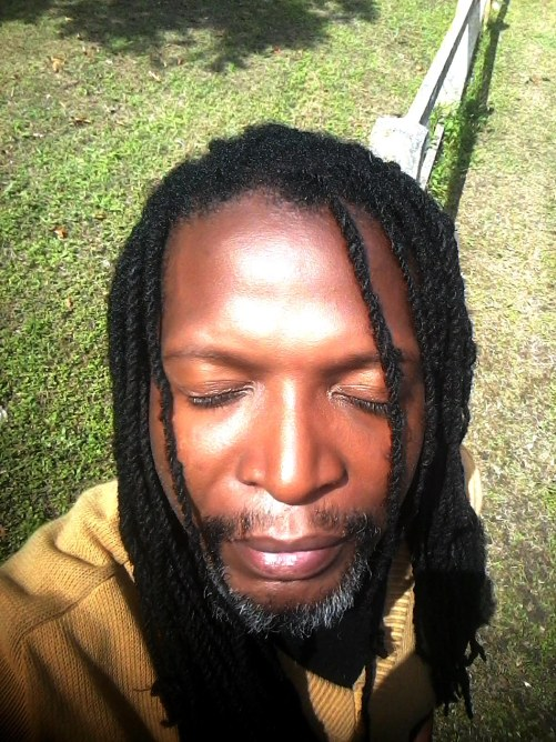 dreadlocks in the sun