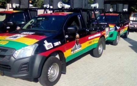 ZanuPf Campaign vehicles