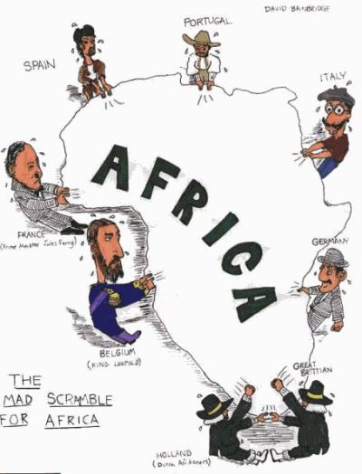 mad scramble for Africa