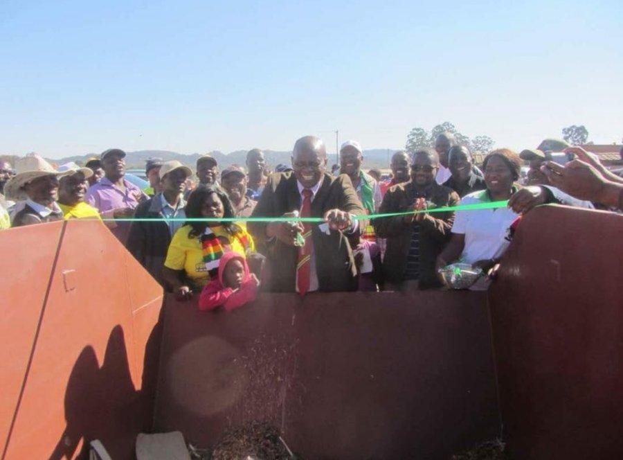 Minister opens bin