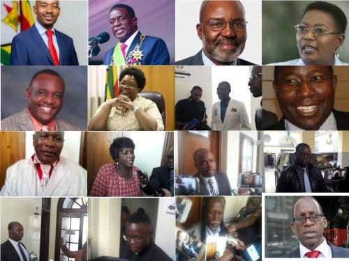 23 zimbabwe presidential candidates