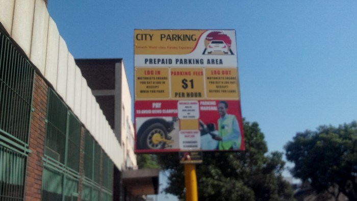 harare parking