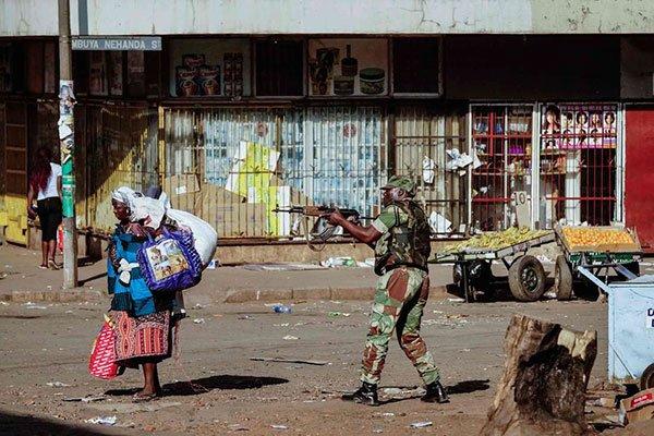 Zimbabwe Military 1 August