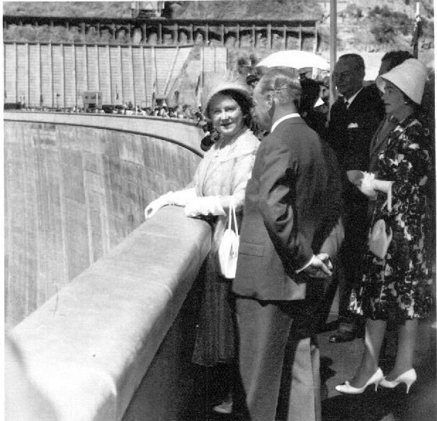 Kariba Dam Opening