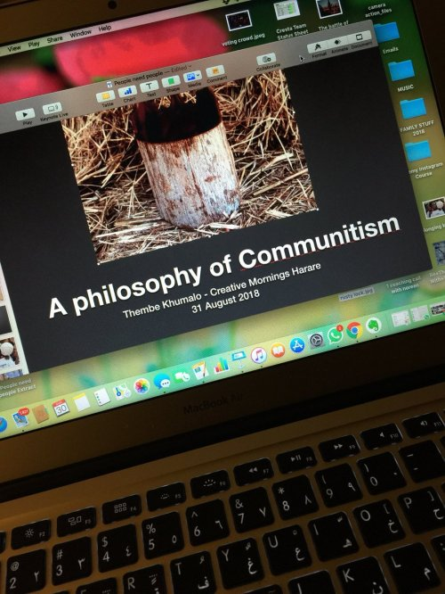 A philosophy of communitism