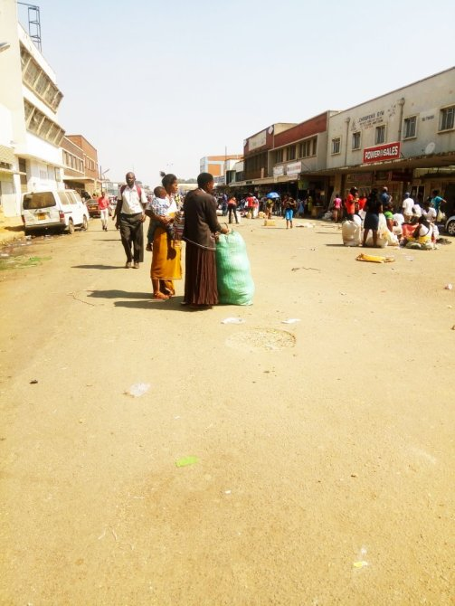 clearing vendors harare cbd