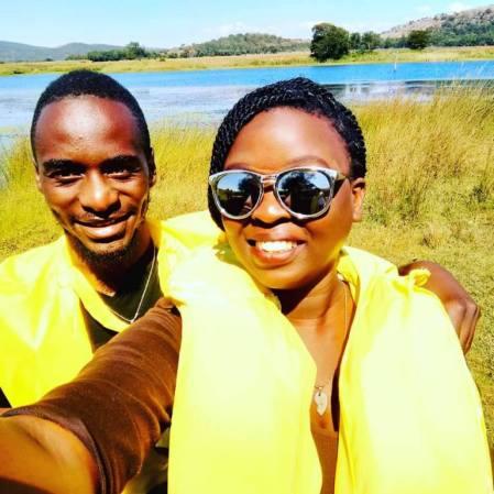 Monalisa Chishato and Mcpotar