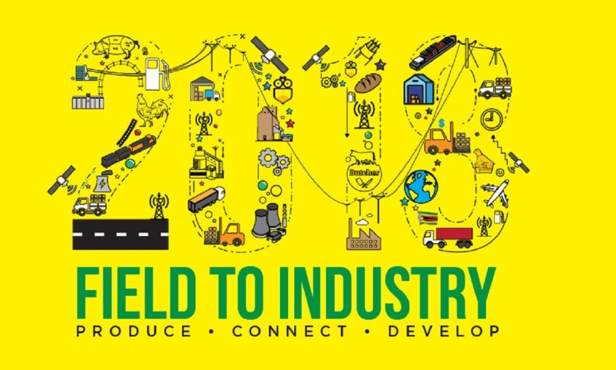 field to industry Produce Connect Develop