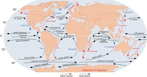 gobal ocean currents