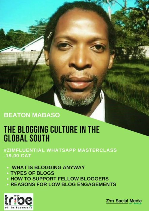The blogging culture of the global south