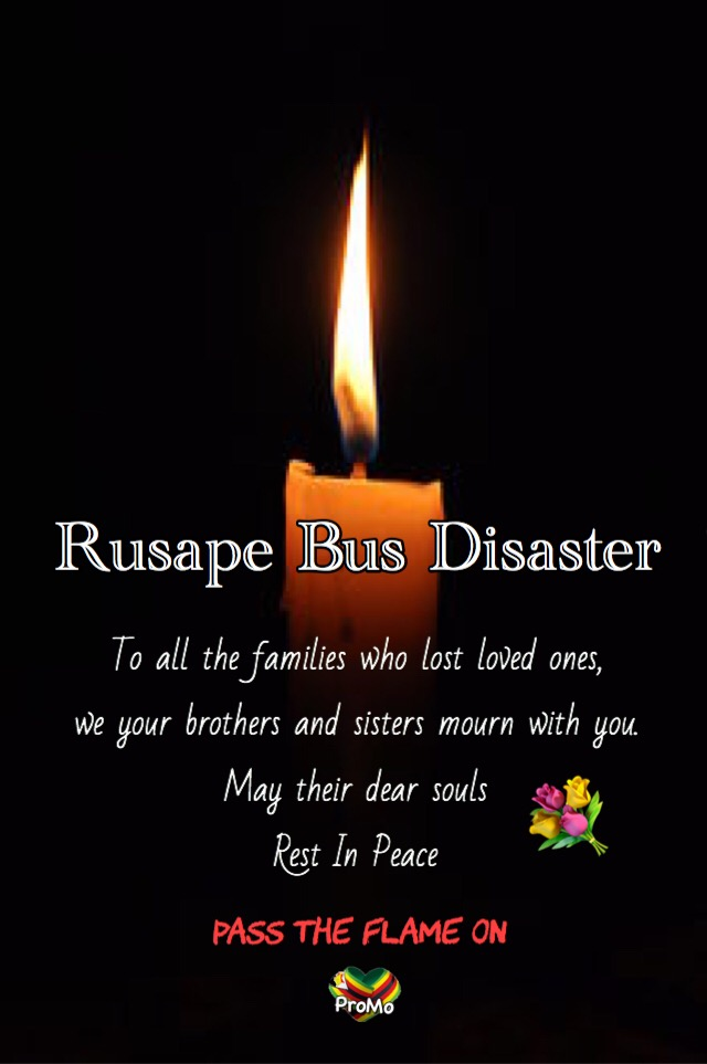 Rusape bus disaster pass the flame on
