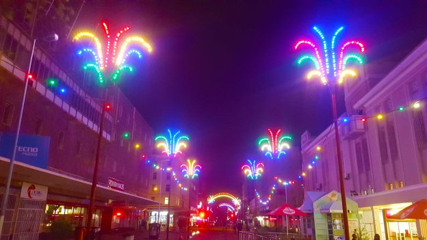 harare city Christmas lights