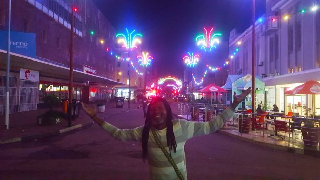 Harare City Christmas Lights First Street