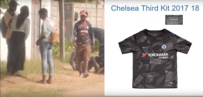 Chelsea Third kit 2017-18