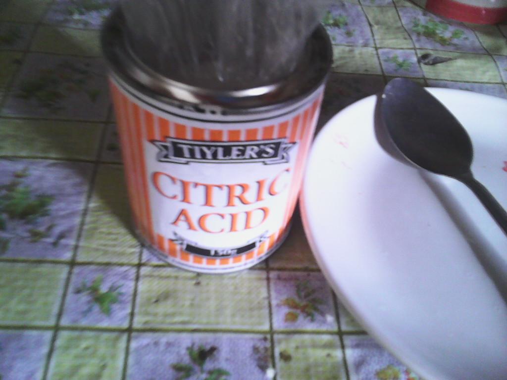 tiyler's citric acid