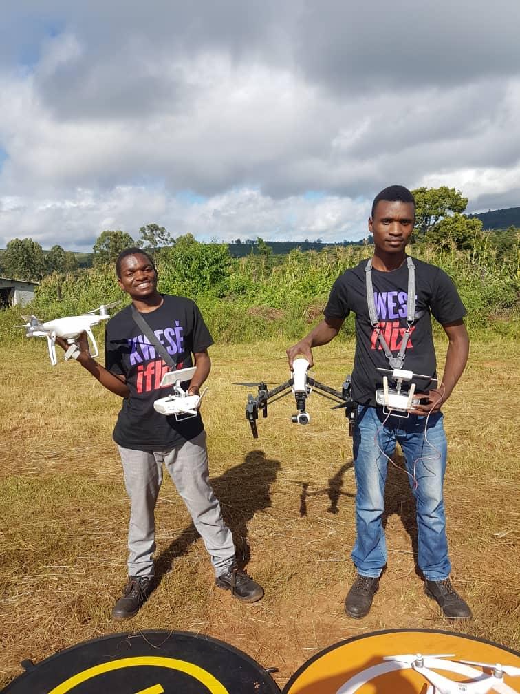 cumii drone rescuing survivors of cyclone idai
