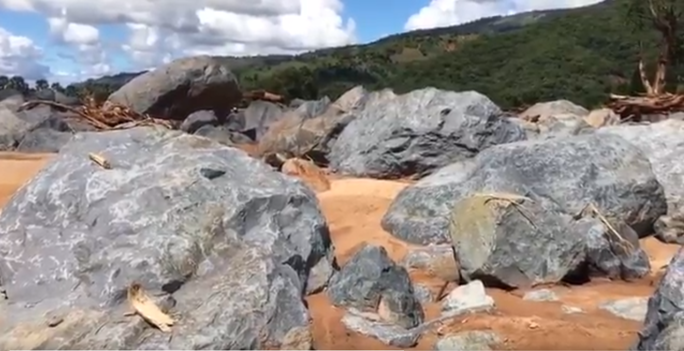 Rocks in chimanimani