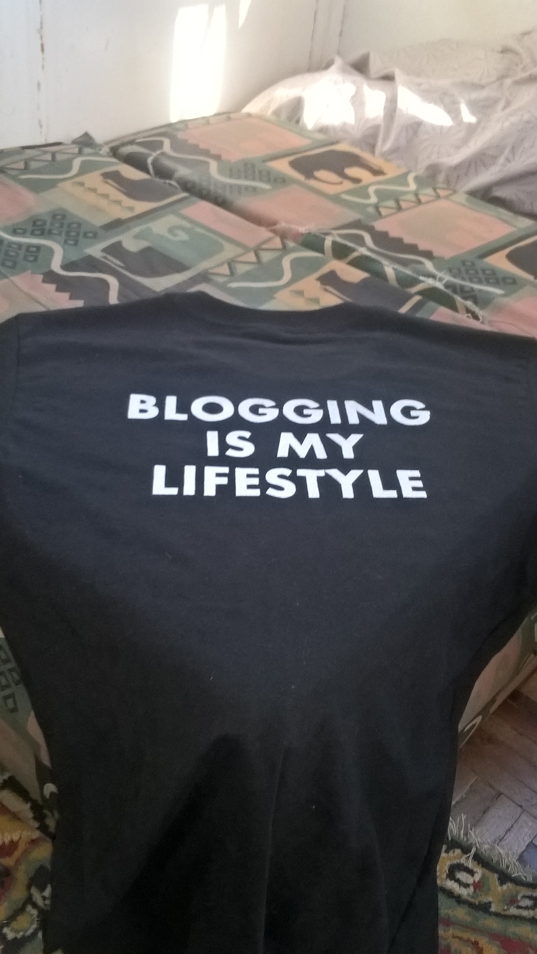 Blogging is my lifestyle