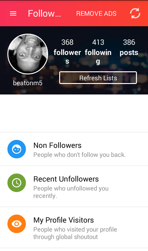 instagram unfollowers