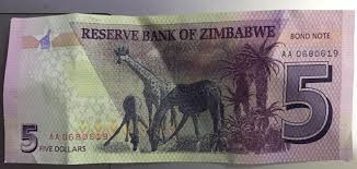 Image result for $5 bond note