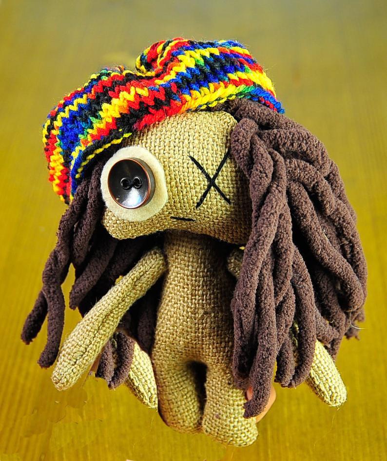 rastaman voodoo doll