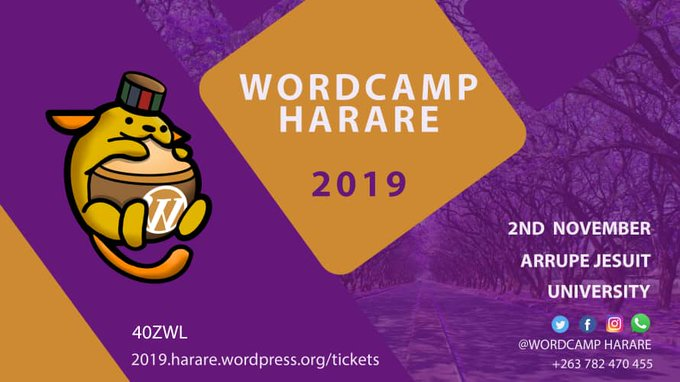 WordCamp Harare 2019