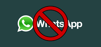 banned from whatsapp for violating terms of service