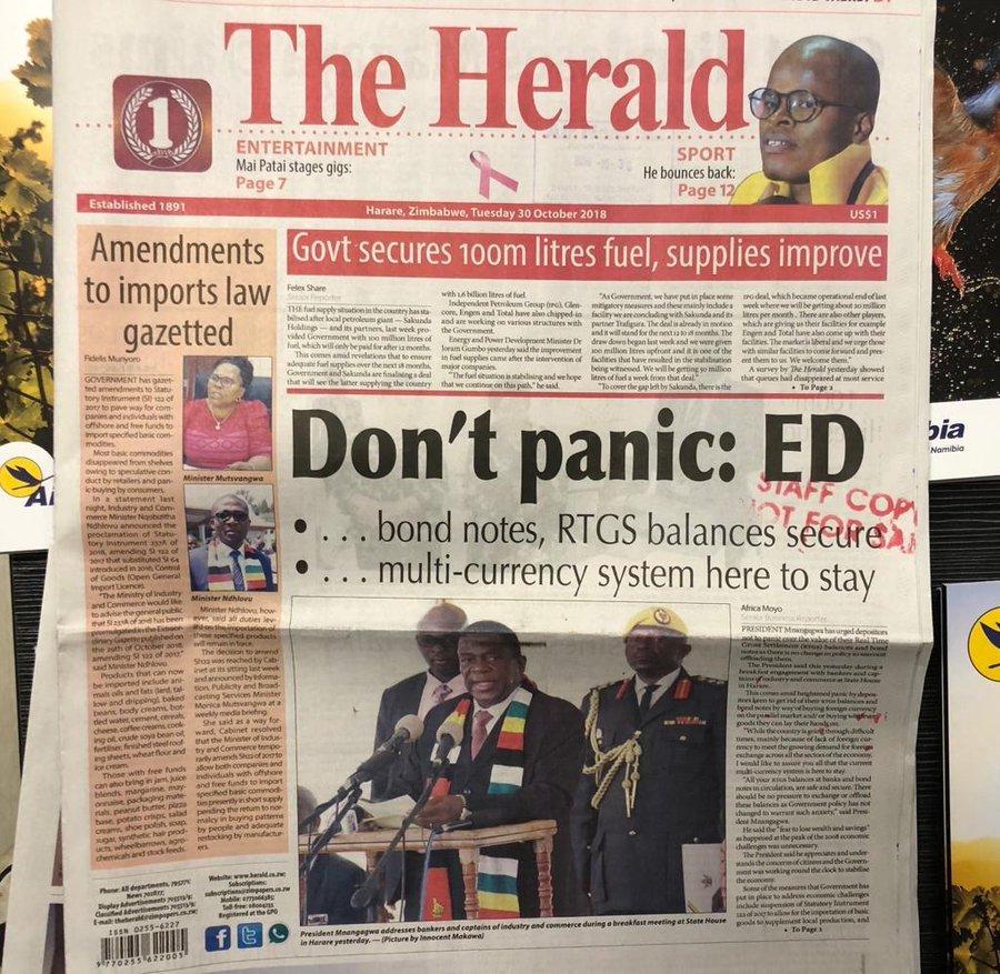 Herald October 2018