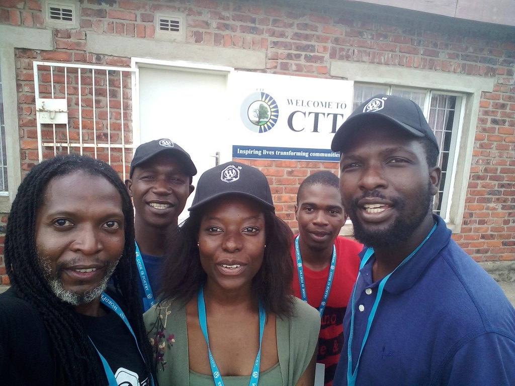 Harare WordPress team at the Centre For Total Transformation CTT