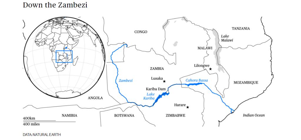 Down the Zambezi River Path