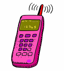 searching signal phone  clip art