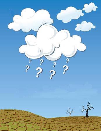 where is the rain?