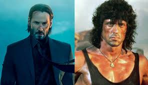 Who would win John Wick or Rambo